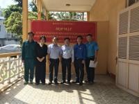 Hình ảnh Đảng uỷ phường 7, quận Phú Nhuận tổ chức họp mặt và tham quan Di tích 87A Trần Kế Xương