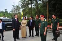 Chủ tịch nước và Chủ tịch quốc hội đến Địa Đạo