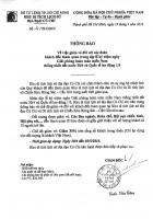 THÔNG BÁO GIẢM VÉ TRONG DỊP LỄ 30/4 VÀ QUỐC TẾ LAO ĐỘNG 1/5