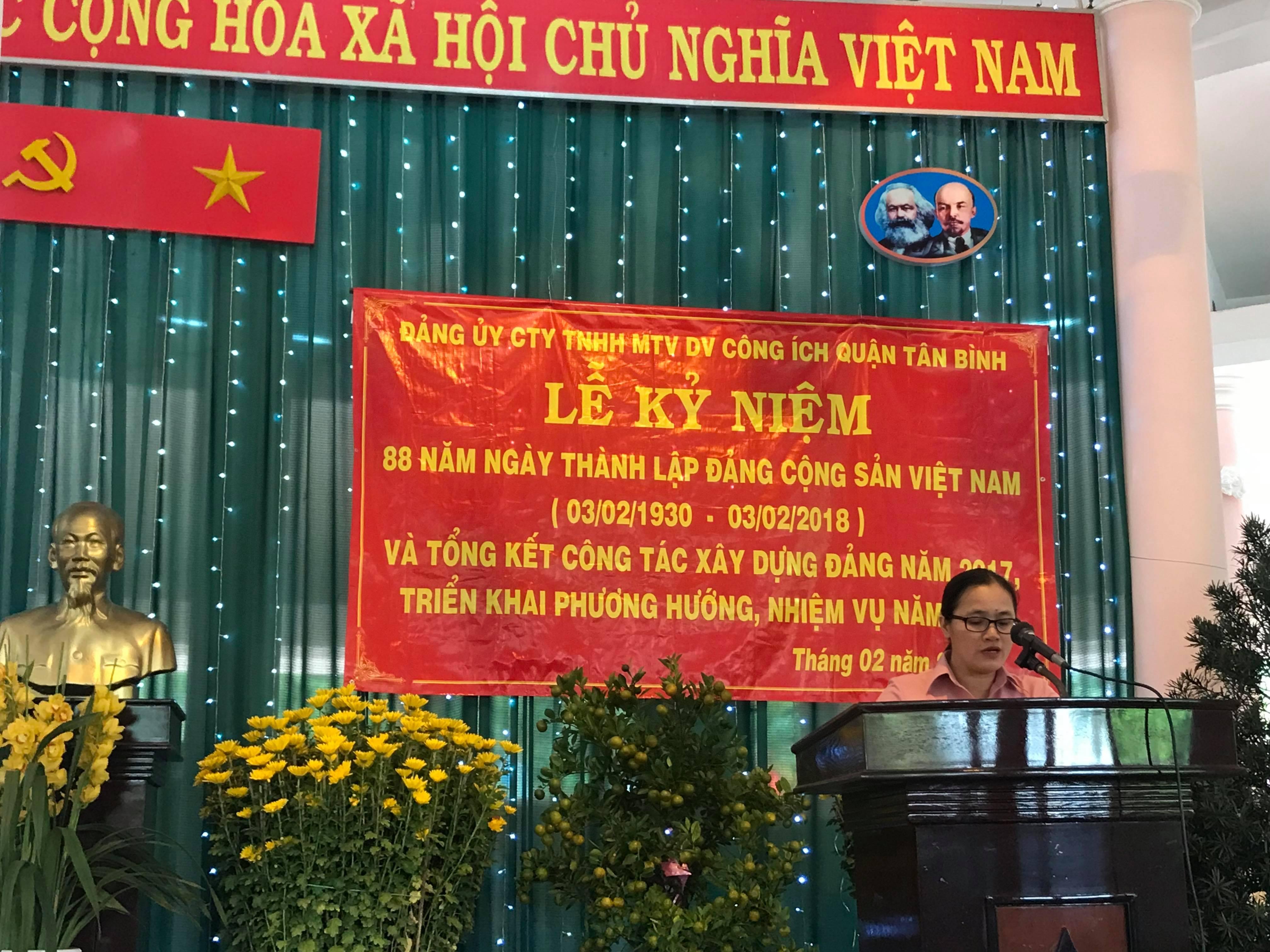 Lễ kỷ niệm 88 năm ngày thành lập Đảng cộng sản Việt Nam
