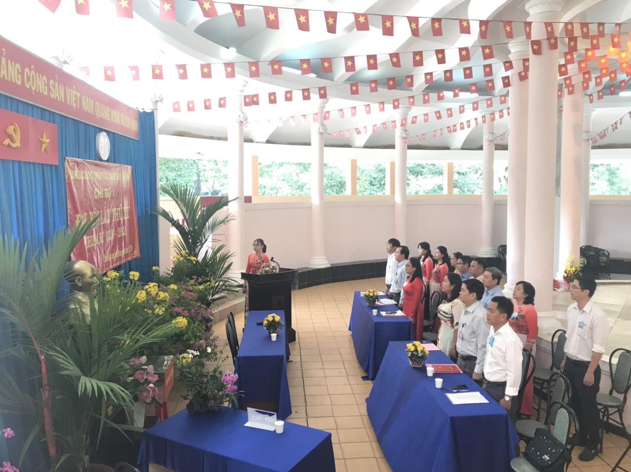 Đại hội Chi bộ 1 - Đảng bộ Công ty TNHH MTV Dịch vụ công ích quận Tân Bình.