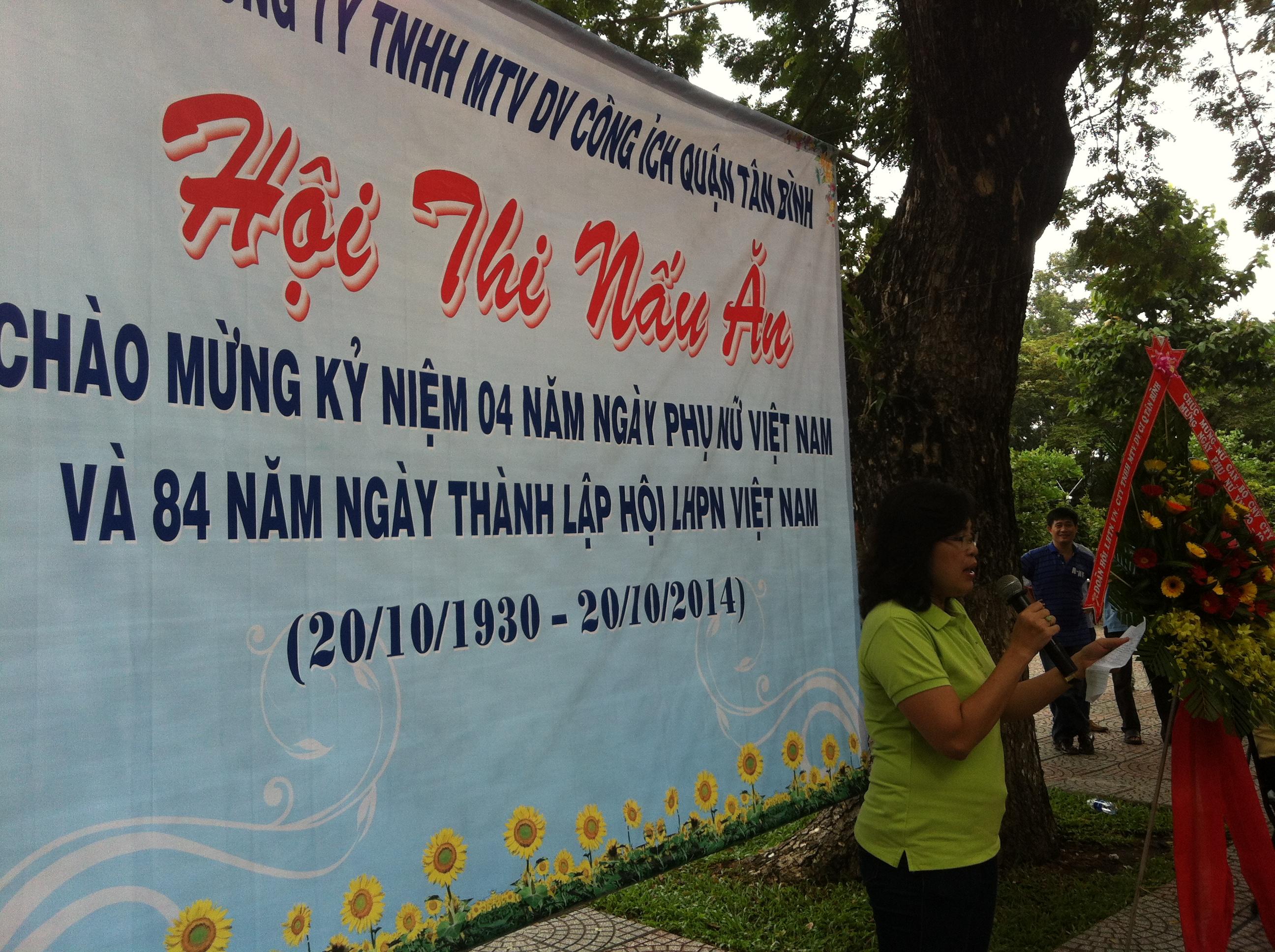 Tổ chức kỷ niệm 84 năm ngày Thành lập Hội LHPN Việt Nam và  04 năm ngày Phụ nữ Việt Nam 20/10/2014