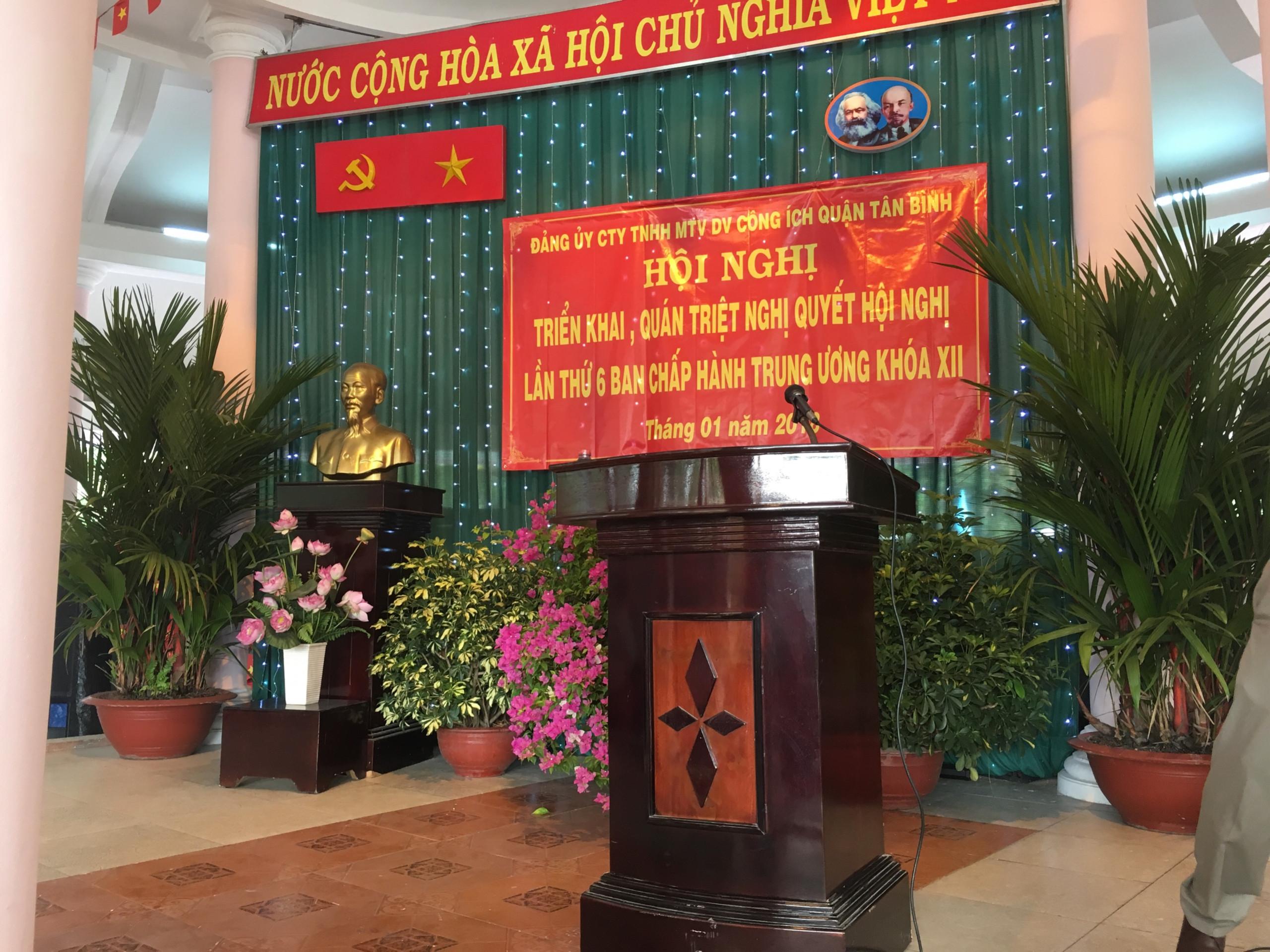 Hội nghị triển khai, quán triệt Nghị quyết Hội nghị lần thứ 6 Ban chấp hành Trung ương khóa XII