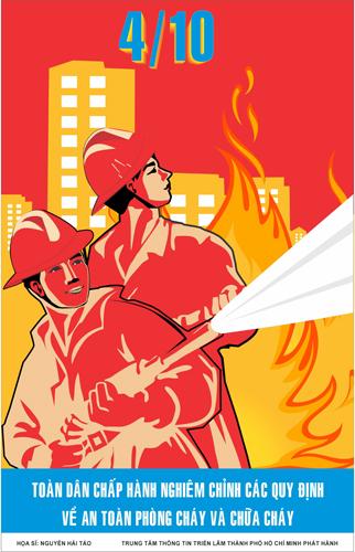 Hưởng ứng Ngày toàn dân phòng cháy chữa cháy