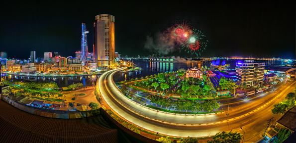 Thành phố vào xuân 2017