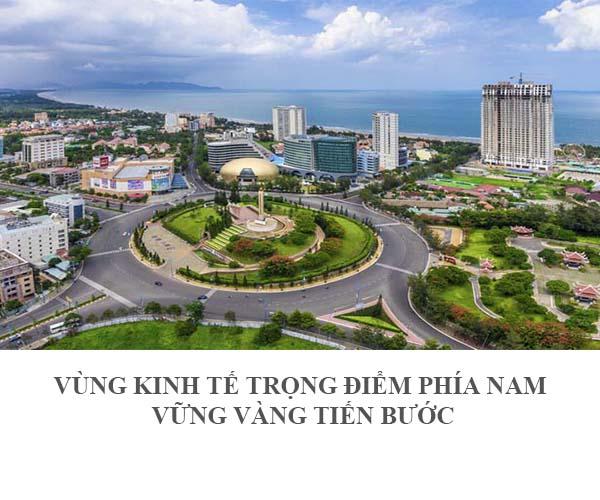 """Triển lãm """"Vùng kinh tế trọng điểm phía Nam -Vững vàng tiến bước"""""""