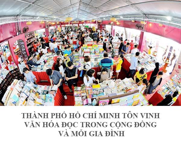 """Triển lãm """" Thành Phố Hồ Chí Minh tôn vinh văn hóa đọc trong cộng đồng và mỗi gia đình"""""""
